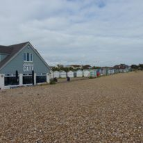 The Blue Bird Cafe in Ferring is only a 50 min walk away